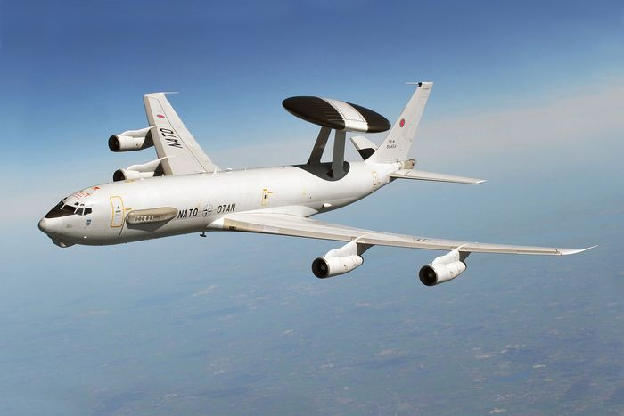 NATO_Plans_Test_Russian_Air_Defence_Syria_German_Boeing_E-3_Turkey