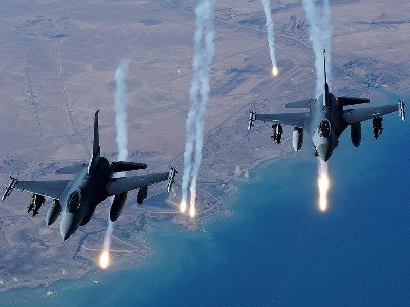 New_US_Coalition_Air_Strike_Hit_Syrian_Civilians_26_Dead_Syria