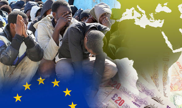 Now EU plans to give £45BN to North Africa