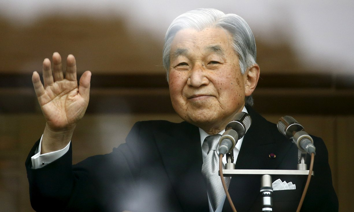 Akihito has been emperor of Japan for 27 years