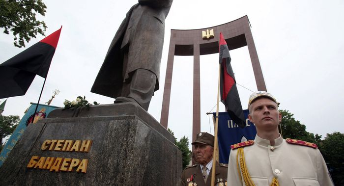 Glorification_Mass_Murderer_Nazi_Bandera_Social_Experiment_Ukraine