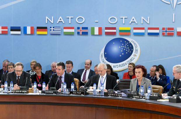 Meetings of the Ministers of Foreign Affairs at NATO Headquarters in Brussels - Meeting of the NATO-Russia Council (NRC)