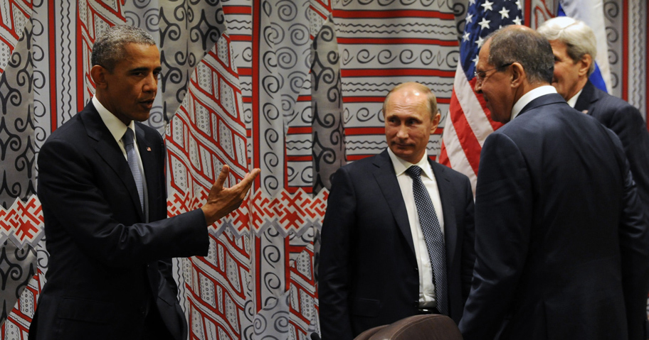 Presidents of Russia and United States meet in New York