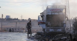 US_Continues_Accuse_Air-Space_Forces_Russia_Airstrike_Humanitarian_Convoy_Syria_No_Proves
