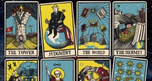 """Tarot_cards_on_the_cover_of_""""the_Economist""""_said_that_is_with_the_world_next_year"""