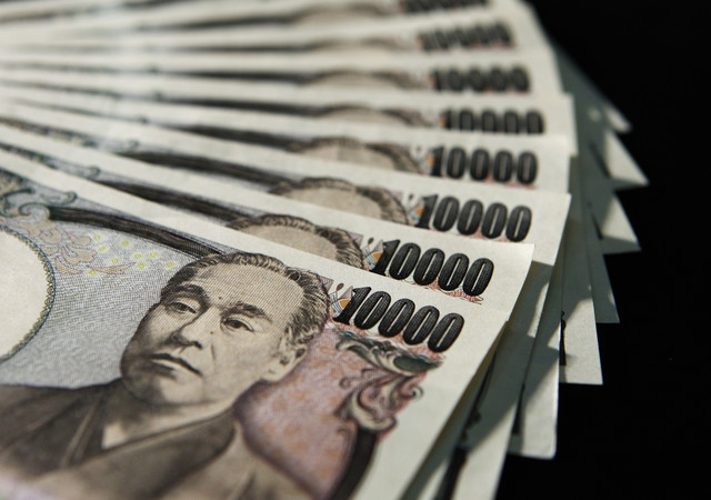 The_weak_yen_helped_the_Tokyo_stock_exchange_to_go_into_a_plus