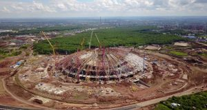 The_General_contractor_of_the_stadium_for_the_2018_world_Cup_in_Samara_has_declared_plunder_of_2,5_billion_rubles.