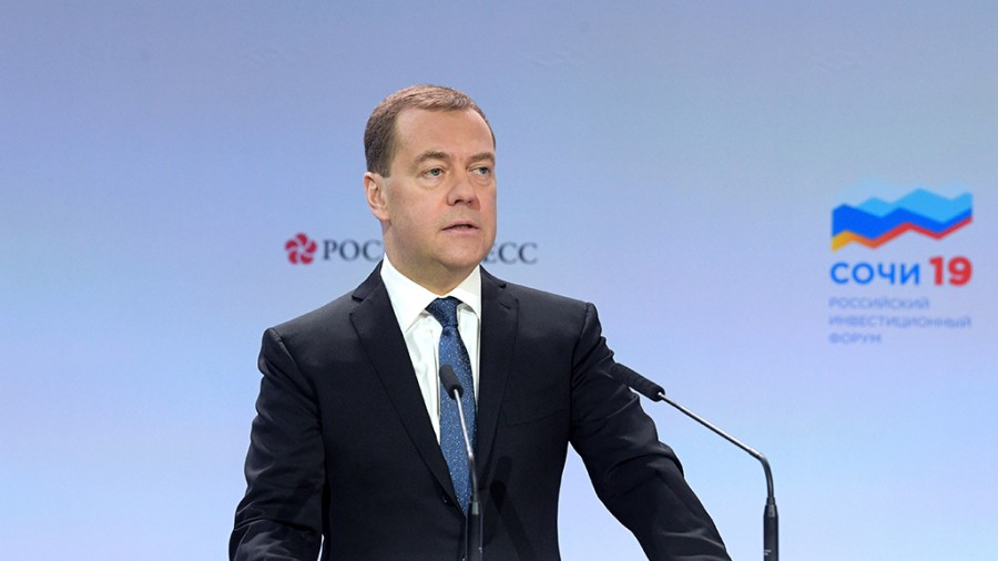 Why_Dmitry_Medvedev's_speeches_ceased_to_notice_the_Prime_Minister_became_a_professional_optimist